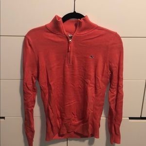 Thin Coral Vineyard Vines Pullover, Size L